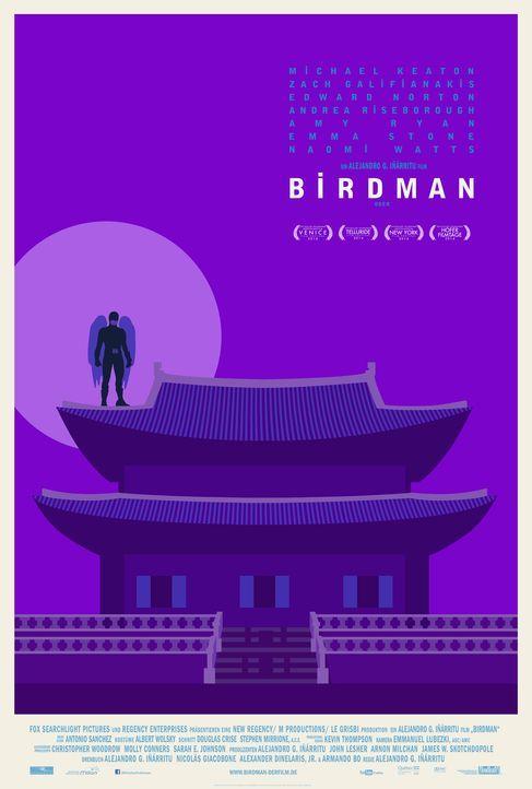 Birdman-Plakat-Korea-20th-Century-Fox - Bildquelle: TWENTIETH CENTURY FOX