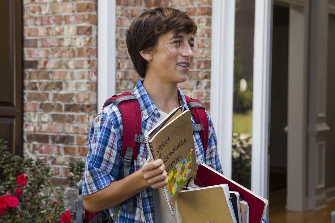 Die Pubertät hält Kevin (Steele Stebbins) auf Trab und sein kleiner Bruder macht ihm das Leben auch nicht gerade einfach. Ist ein Roadtrip mit der F... - Bildquelle: Warner Bros.