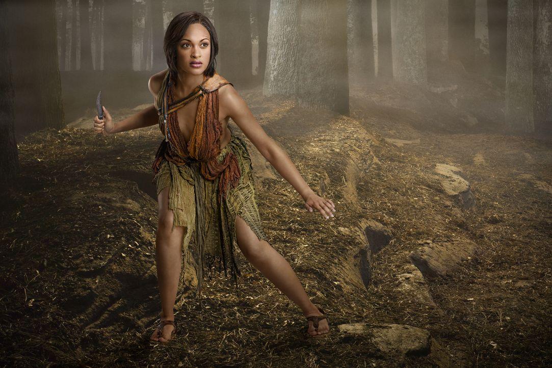 Das Angebot von Crixus, weit weg ein neues Leben zu beginnen, schlägt Naevia (Cynthia-Addai Robinson) aus, weil nun auch sie sich an den Römern für... - Bildquelle: 2011 Starz Entertainment, LLC. All rights reserved.