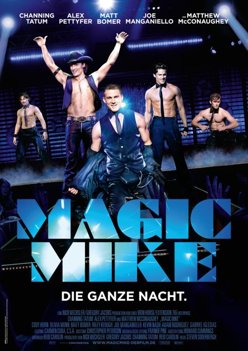 MAGIC MIKE - Plakatmotiv - Bildquelle: 2012 The Estate of Redmond Barry LLC. All rights reserved