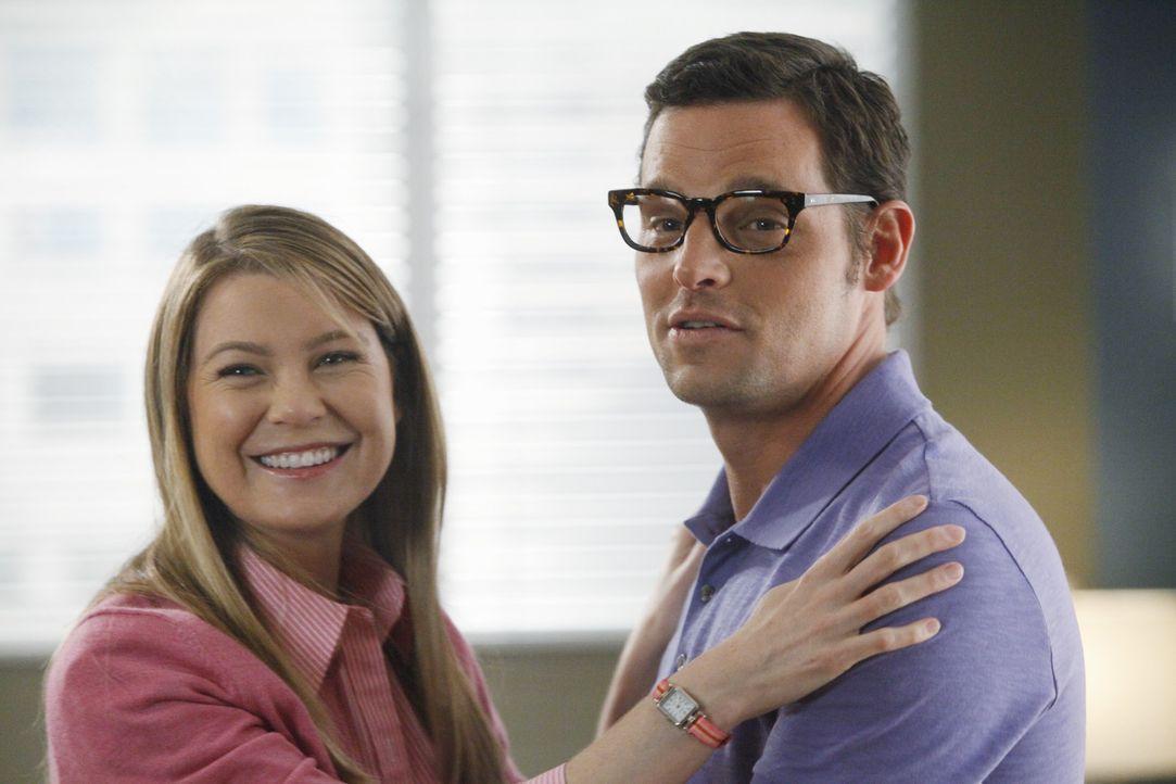 Wie wäre das Leben von Alex (Justin Chambers, r.) und Meredith (Ellen Pompeo, l.) verlaufen, wenn sie sich in einem Punkt ihres Lebens anders entsc... - Bildquelle: ABC Studios
