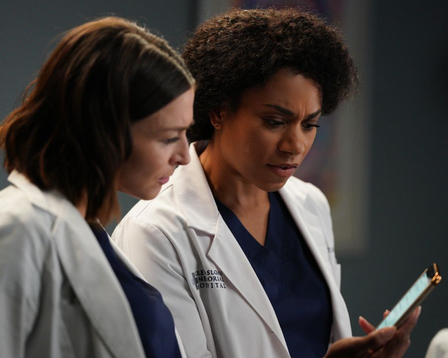 Dr. Amelia Shepherd (Caterina Scorsone, l.); Dr. Maggie Pierce (Kelly McCreary, r.) - Bildquelle: Christopher Willard 2020 American Broadcasting Companies, Inc. All rights reserved. / Christopher Willard