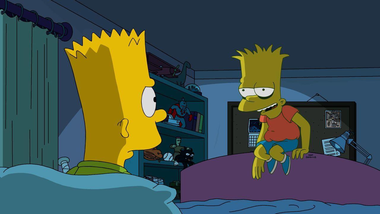 Nachdem Bart (l.) Lisa betrogen hat, bekommt er die Quittung dafür ... - Bildquelle: 2016-2017 Fox and its related entities. All rights reserved.