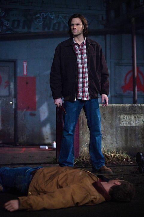 Wie schlimm hat die erste Aufgabe Sam (Jared Padalecki) wirklich geschadet? - Bildquelle: Warner Bros. Television