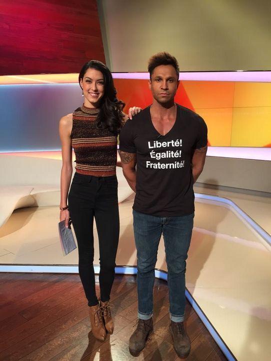 Rebecca Mir und Daniel Aminati