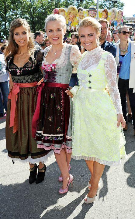 150921-Cathy-Hummels-Barbara-Sturm-Jennifer-Knaeble-dpa - Bildquelle: dpa