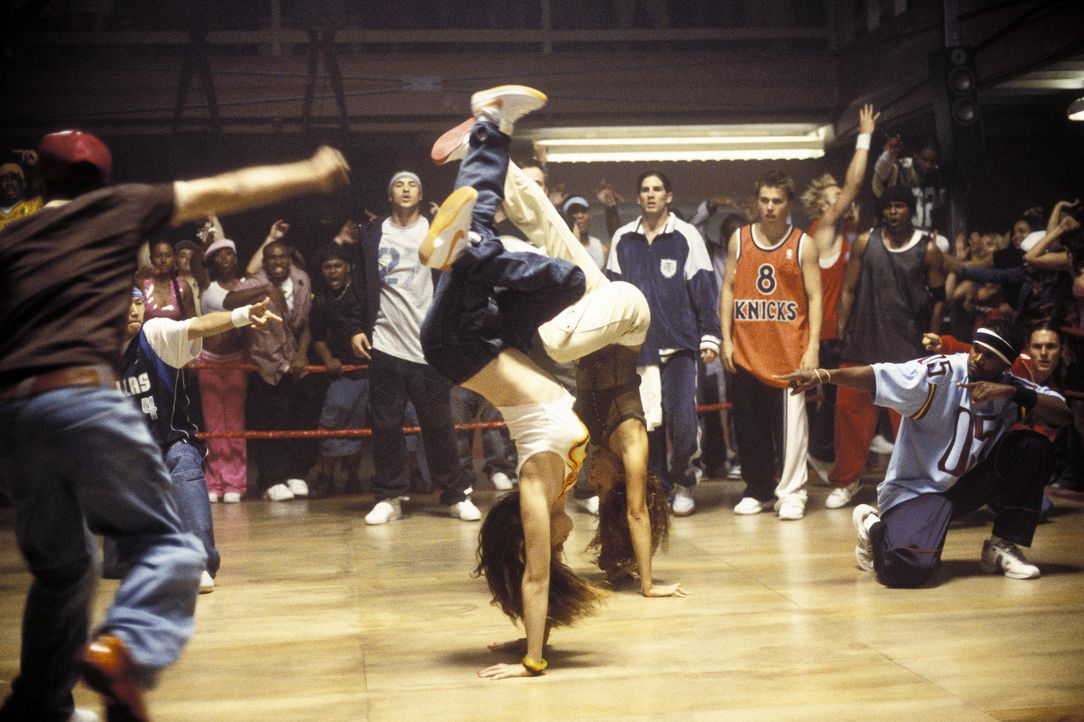 """The Big Bounce"" ist ein Wettbewerb, bei dem der besten Street Dancer-Crew Amerikas 50.000 Dollar winken ... - Bildquelle: 2004 Screen Gems, Inc. All Rights Reserved."