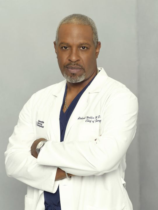 (5. Staffel) - Halbgott in weiß: Dr. Richard Webber (James Pickens, Jr.) ... - Bildquelle: Bob D'Amico 2007 American Broadcasting Companies, Inc. All rights reserved. NO ARCHIVING. NO RESALE.