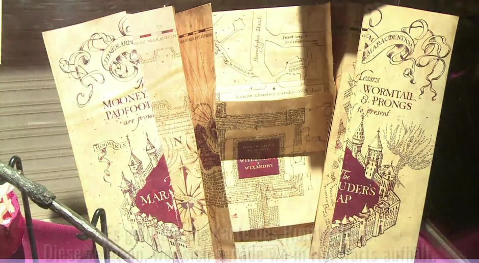 Harry Potter Karte Des Rumtreibers Spruch.Harry Potter Logikfehler Bei Der Karte Des Rumtreibers