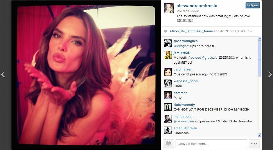VS-Instagram-19-Instagram - Bildquelle: Instagram/Alessandra Ambrosio