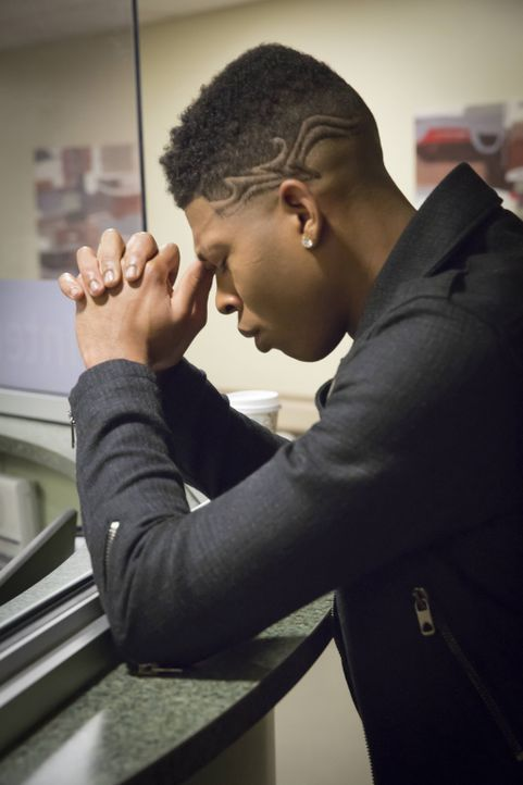 Zieht sich den Zorn seines Vaters Lucious zu: Hakeem (Bryshere Y. Gray) ... - Bildquelle: Chuck Hodes 2015-2016 Fox and its related entities.  All rights reserved.
