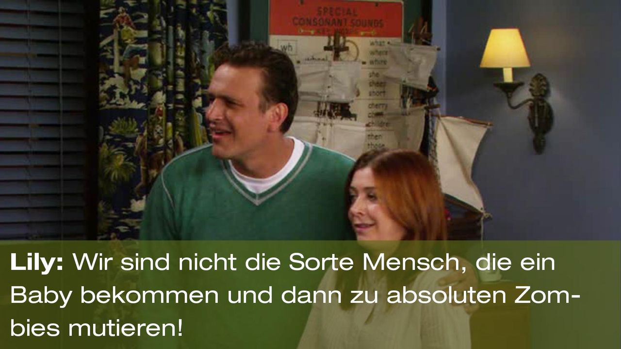 how-i-met-your-mother-zitat-quote-staffel-8-episode-1-farhampton-lily-zombie-foxpng 1600 x 900 - Bildquelle: 20th Century Fox