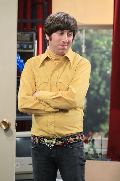 Hat Schwierigkeiten damit, aus dem Haus seiner Mutter auszuziehen: Howard (Simon Helberg) ... - Bildquelle: Warner Bros. Television