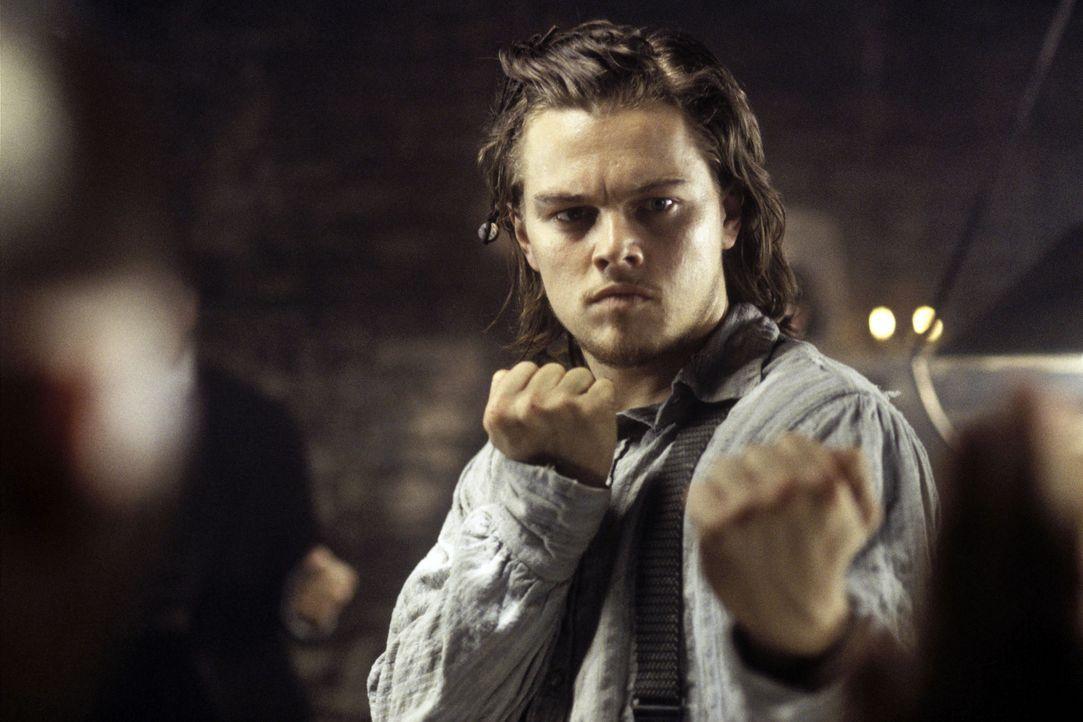 Der mutige Einwanderersohn Amsterdam Vallon (Leonardo DiCaprio) stellt sich jedem Gegner ... - Bildquelle: Miramax Films