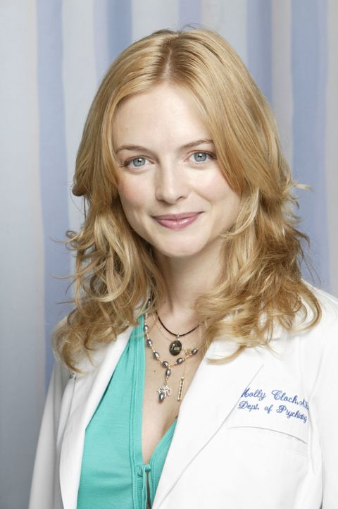Bringt neues Leben in die Klinik: Dr. Molly Clock (Heather Graham) ... - Bildquelle: Touchstone Television