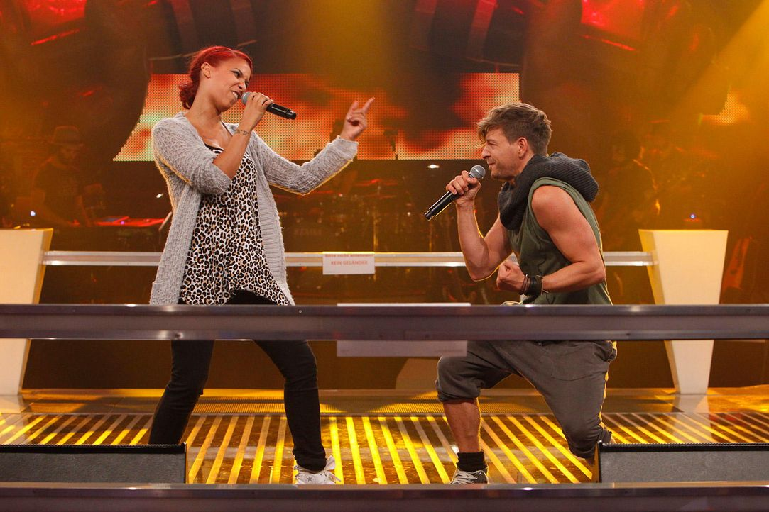 battle-luca-vs-jenna-13-the-voice-of-germany-huebnerjpg 1700 x 1133 - Bildquelle: SAT1/ProSieben/Richard Hübner