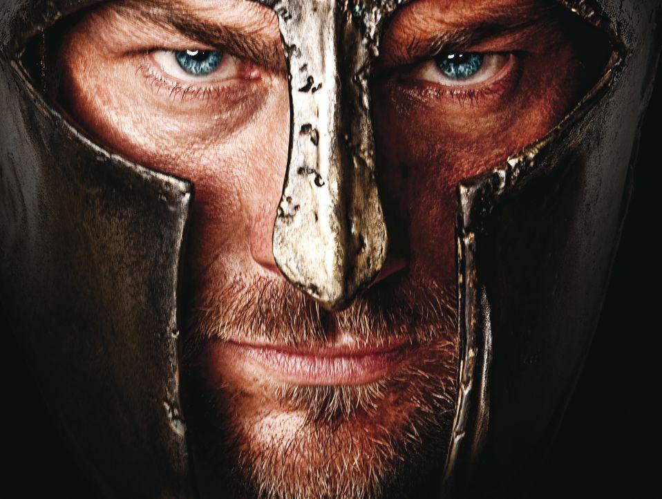 Der Thraker Spartacus (Andy Whitfield) kämpft zunächst auf Seiten der Römer. Als er jedoch nach einem Wortbruch diesen die Gefolgschaft verweigert,... - Bildquelle: 2009 Starz Entertainment, LLC
