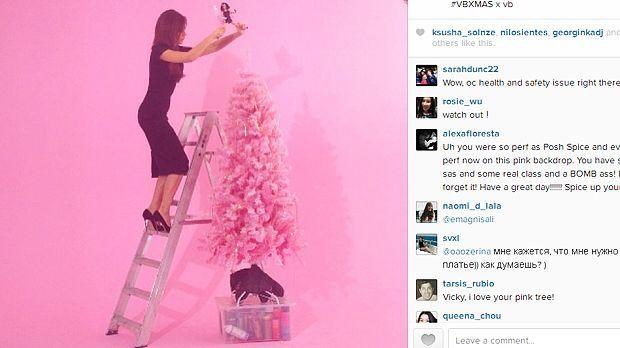 Weihnachten mit Barbie-Becks - Bildquelle: Instagram