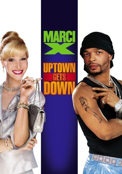 """""""Marci X - Uptown gets Down? mit Lisa Kudrow, l. und Damon Wayans, r. - Bildquelle: Paramount Pictures"""
