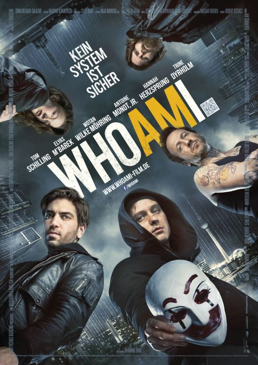 WHO AM I - Plakat - Bildquelle: Sony Pictures