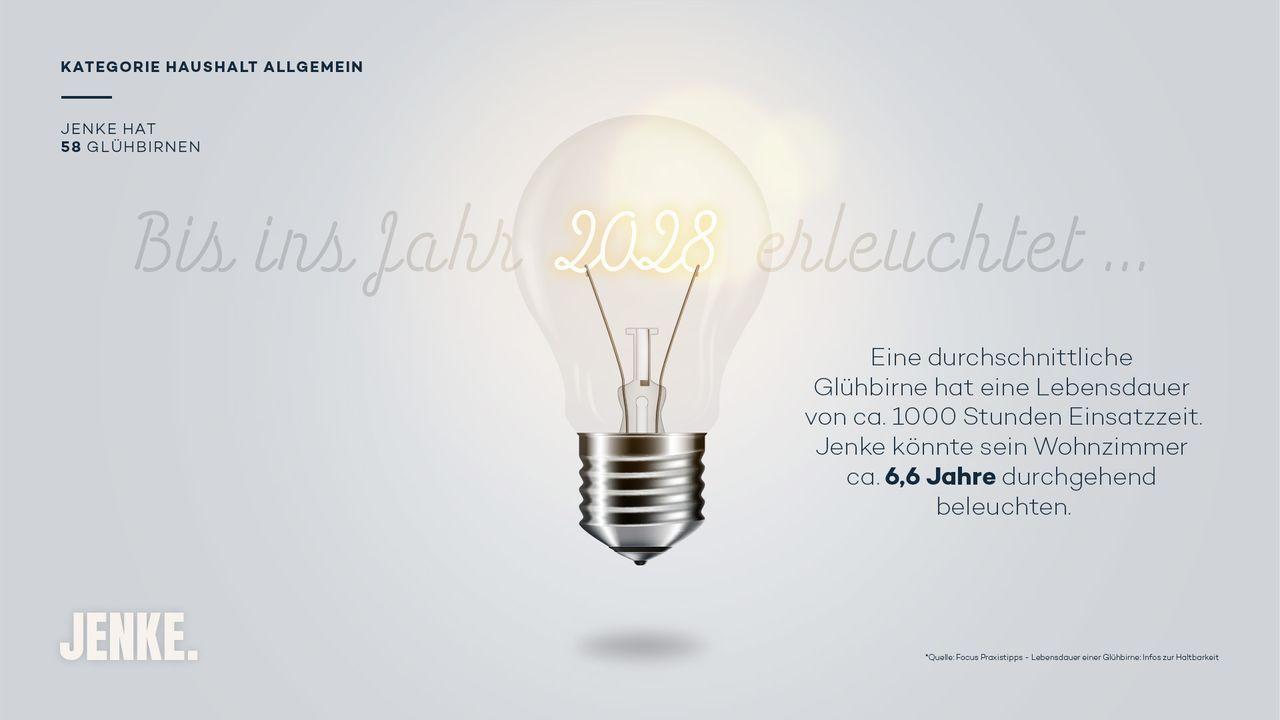 Glühbirnen - Bildquelle: ProSieben