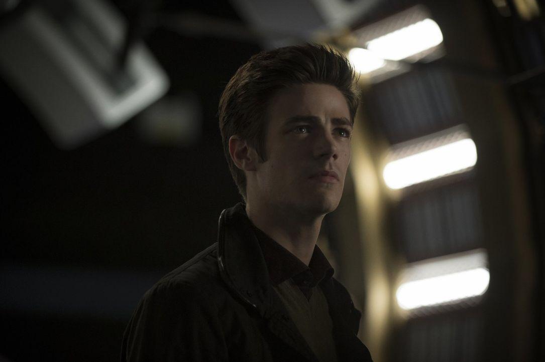 Seitdem Barry (Grant Gustin) in Dr. Wells geheimen Raum etwas über seine Zukunft erfahren hat, ist es für ihn noch schwerer sich Iris gegenüber zu v... - Bildquelle: Warner Brothers.