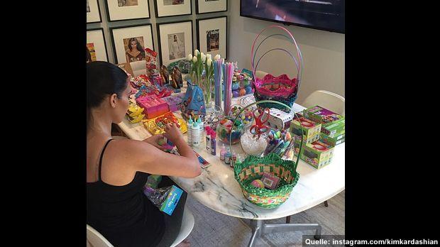 kimkardashian-ostern-2015-1-instagram - Bildquelle: instagram.com/kimkardashian