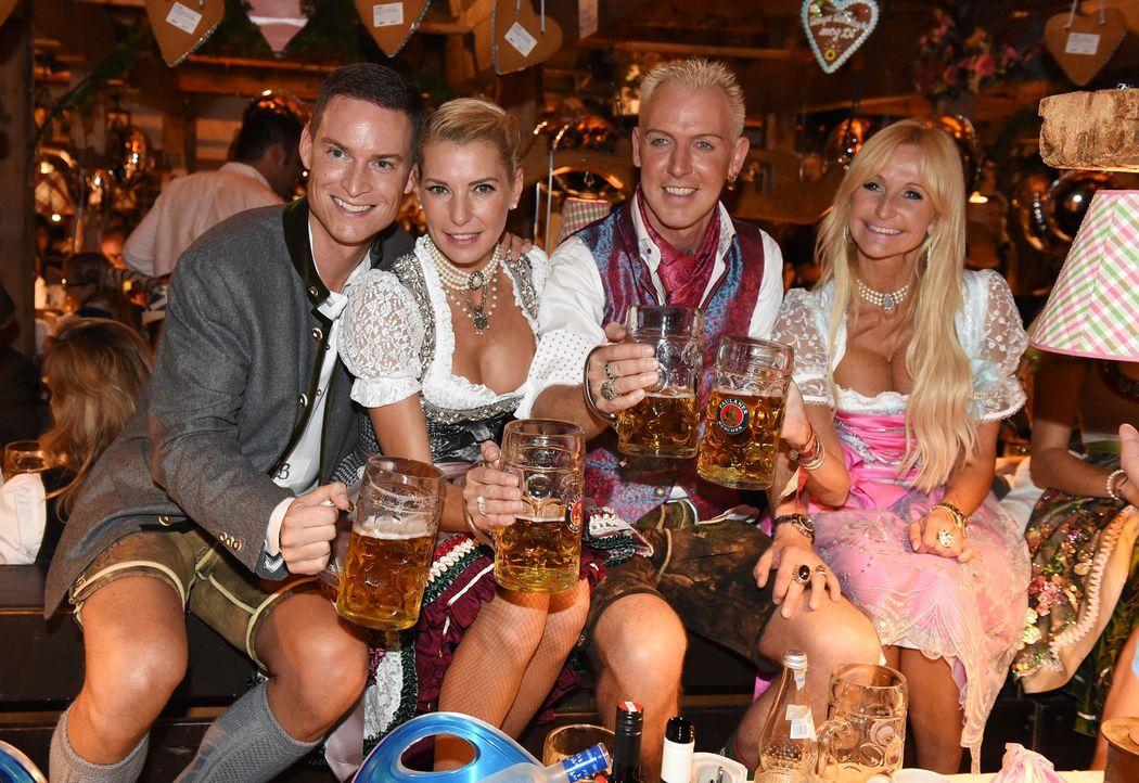 Frank- Buechtmann-Giulia Siegel- H-P- Baxxter- Nikola-14-09-22-dpa - Bildquelle: dpa
