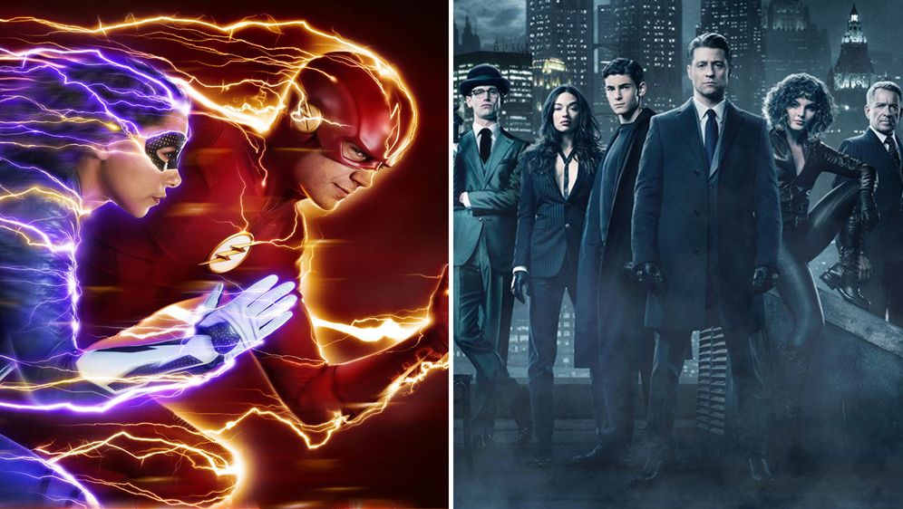 - Bildquelle: 2018 The CW Network, LCC (l)/ 2017 Warner Bros. (r)