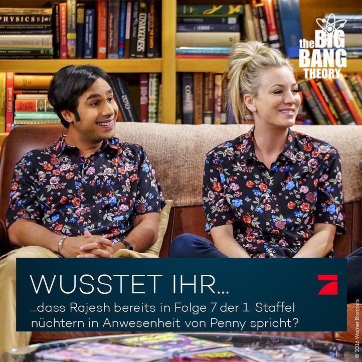 Big Bang Theory Trivia: Raj und die Frauen - Bildquelle: Warner Brothers