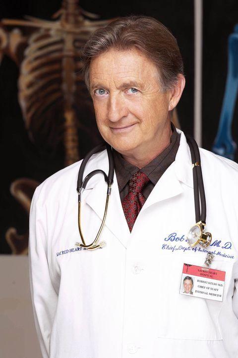 (2. Staffel) - Chefarzt Dr. Bob Kelso (Ken Jenkins) fordert von seinen Leuten totalen Einsatz ... - Bildquelle: Touchstone Television