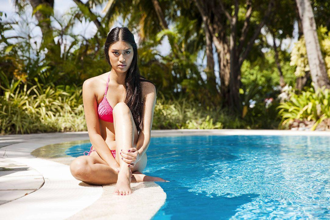 GNTM-Stf10-Epi13-Bikini-Shooting-Malediven-79-Anuthida-ProSieben-Boris-Breuer - Bildquelle: ProSieben/Boris Breuer