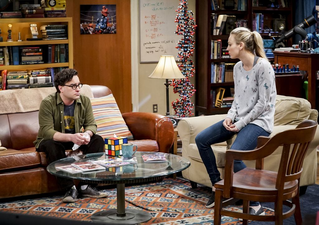 Leonard Hofstadter (Johnny Galecki, l.); Penny Hofstadter (Kaley Cuoco, r.) - Bildquelle: Sonja Flemming 2019 CBS Broadcasting, Inc. All Rights Reserved / Sonja Flemming