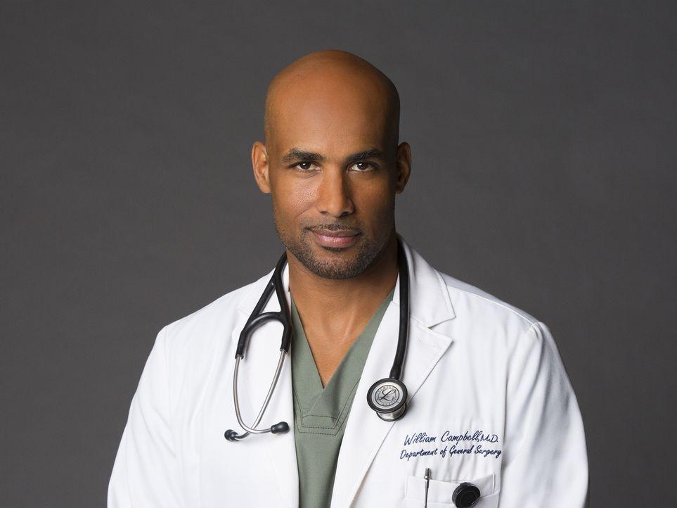(2. Staffel) - Dr. Campbell (Boris Kodjoe) übernimmt die Leitung im Angels Memorial und sorgt dafür, dass seine Ärzte sich an die Vorschriften halte... - Bildquelle: Monty Brinton 2015 ABC Studios