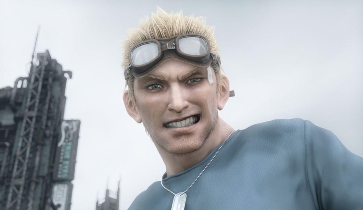 Steht Cloud bei in seinem Kampf gegen das Böse: Cid ... - Bildquelle: 2005 Square Enix Co., LTD. All Rights Reserved.