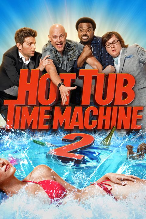 HOT TUB TIME MACHINE 2 - Artwork - Bildquelle: 2015 Paramount Pictures Corporation and Metro-Goldwyn-Mayer Pictures Inc. All Rights Reserved.