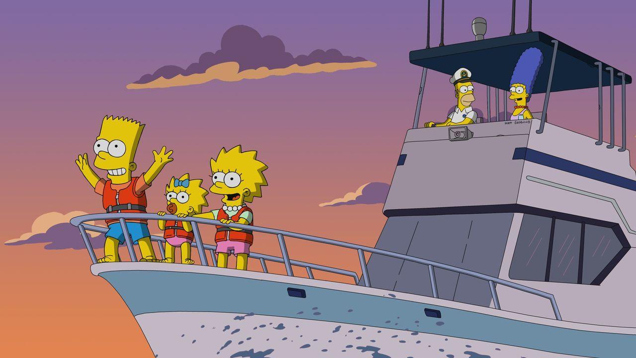 (v.l.n.r.) Bart; Maggie; Lisa; Homer; Marge - Bildquelle: 2019-2020 Twentieth Century Fox Film Corporation.  All rights reserved.