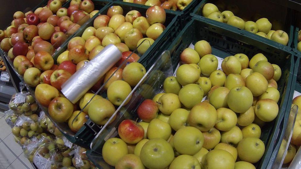 Schellack äpfel