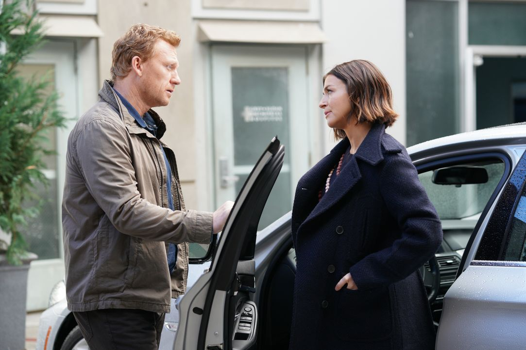 Dr. Owen Hunt (Kevin McKidd, l.); Dr. Amelia Shepherd (Caterina Scorsone, r.) - Bildquelle: Christopher Willard 2020 American Broadcasting Companies, Inc. All rights reserved. / Christopher Willard