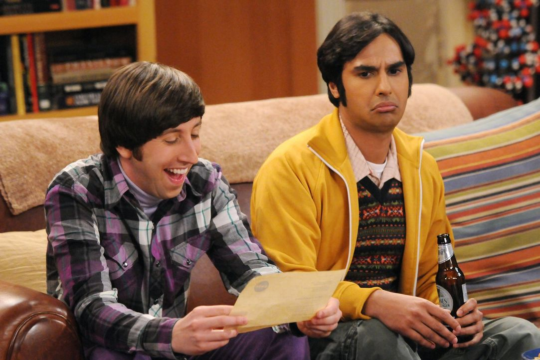 Was ist nur mit Rajesh (Kunal Nayyar, r.) und Howard (Simon Helberg, l.) los? - Bildquelle: Warner Bros. Television
