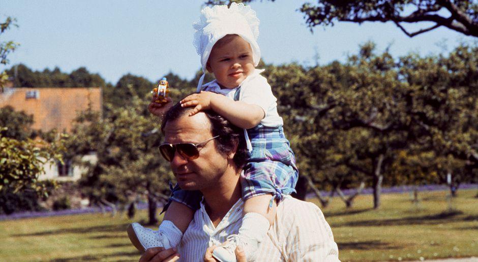 Prinzessin-Madeleine-von-Schweden-Carl-Gustaf-1983-06-29-AFP - Bildquelle: AFP