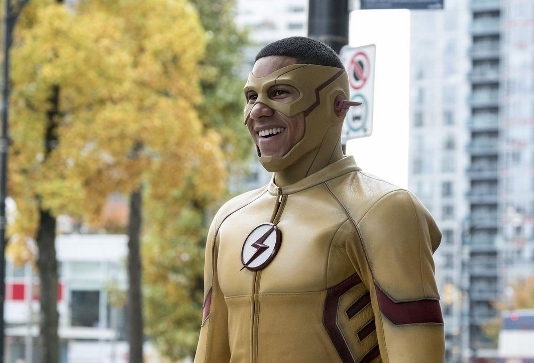 Nachdem Wally alias Kid Flash (Keiynan Lonsdale) von einem Mann, den er zusammen mit Barry gerettet hat, nur negative Sachen über sich hört, ist sei... - Bildquelle: 2016 Warner Bros.