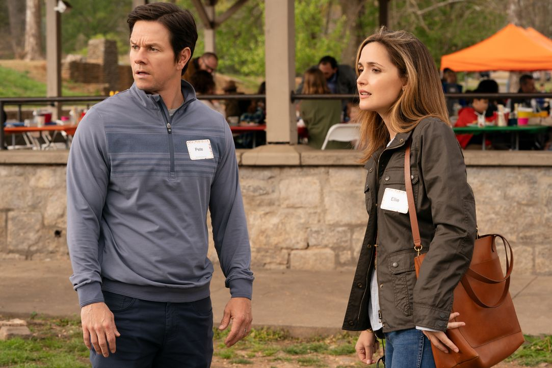 Pete (Mark Wahlberg, l.); Ellie (Rose Byrne, r.) - Bildquelle: Hopper Stone 2018 Paramount Pictures. All rights reserved. / Hopper Stone