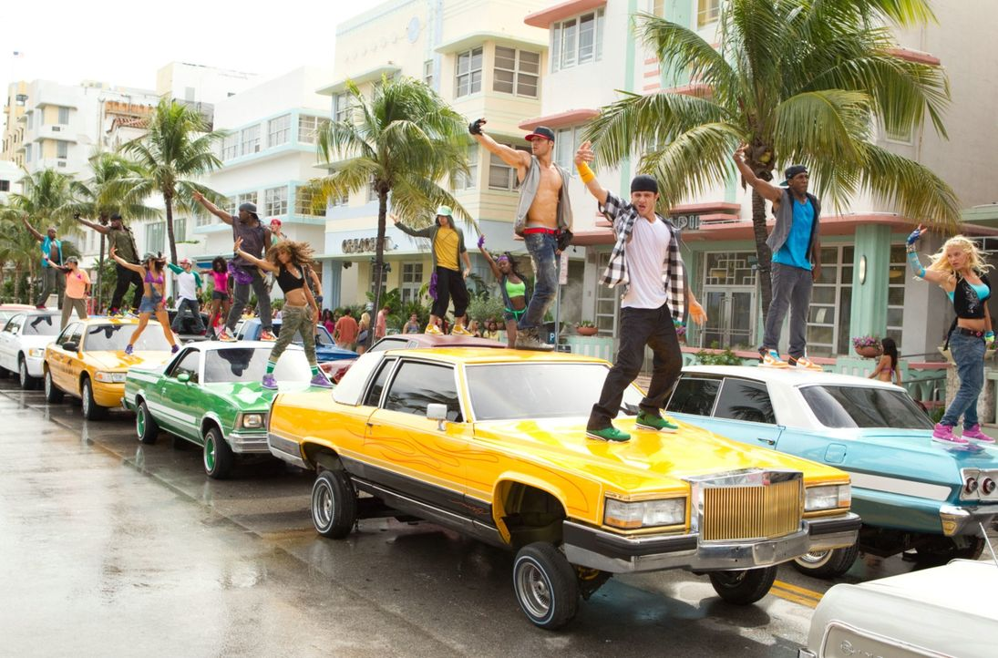 "Sorgen für ein deftiges Verkehrschaos: ""The Mob"" ist eine geheime Streetdancer-Truppe, die in Miami mit ihren perfekten Flashmobs die Behörden verst... - Bildquelle: 2011 Summit Entertainment, LLC. All rights reserved."