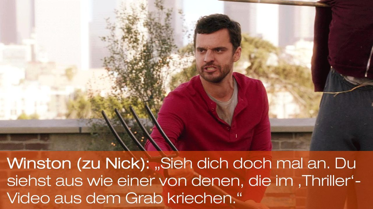 New Girl - Zitate - Staffel 1 Folge 22 - Nick (Jake Johnson) - Bildquelle: 20th Century Fox