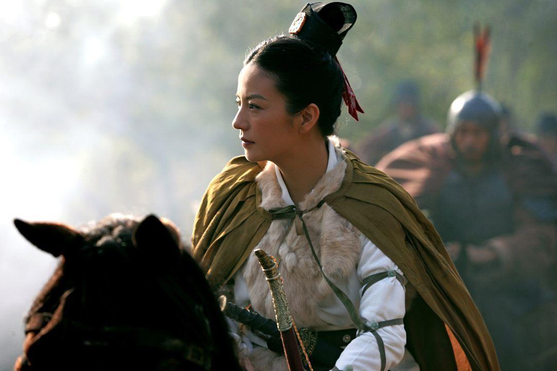 Die mutige Prinzessin Sun Shangxiang (Wei Zhao) lässt es sich nicht nehmen, selbst in den Krieg zu ziehen und für ihr Land zu kämpfen ... - Bildquelle: Constantin Film Verleih GmbH