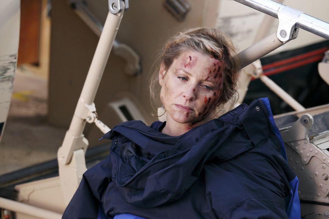 Versucht alles, um die Ruhe zu bewahren: Arizona (Jessica Capshaw) ... - Bildquelle: Touchstone Television