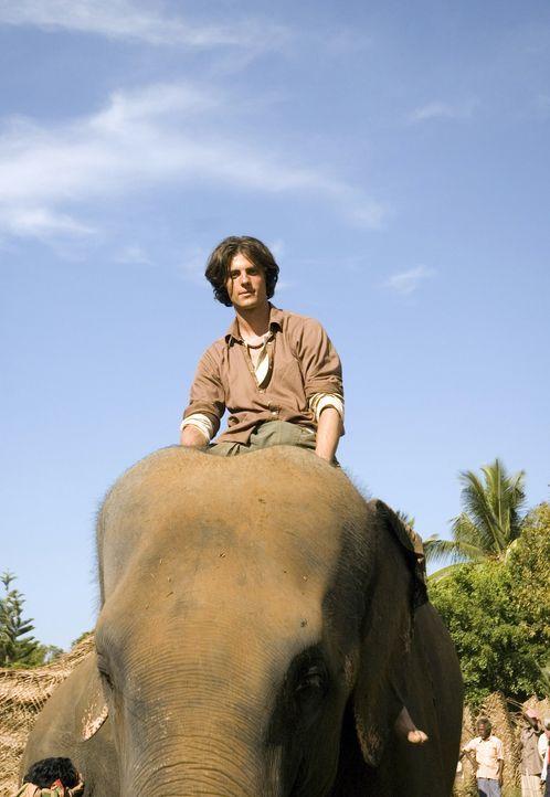 Als Zooranger Alwin (Erwan van Buuren) von den verschwundenen indischen Elefanten erfährt, trommelt er kurzerhand seine Kollegen zusammen und gemei... - Bildquelle: Jan van den Nievwenhuijzen
