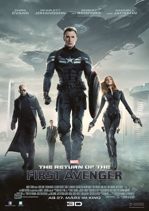 The-Return-of-the-First-Avenger-Plakat2-Marvel - Bildquelle: Marvel