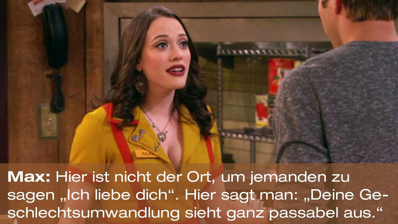 2-broke-girls-zitat-quote-staffel2-episode11-geschaeftspartnerin-max-ort-warnerpng 1600 x 900 - Bildquelle: Warner Bros. International Television